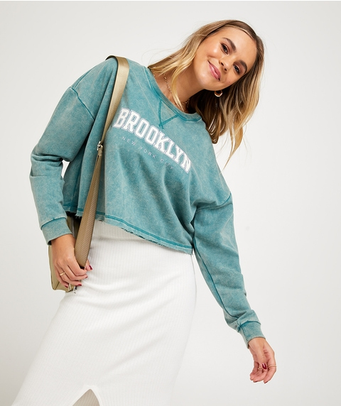 BROOKLYN SWEAT TOP