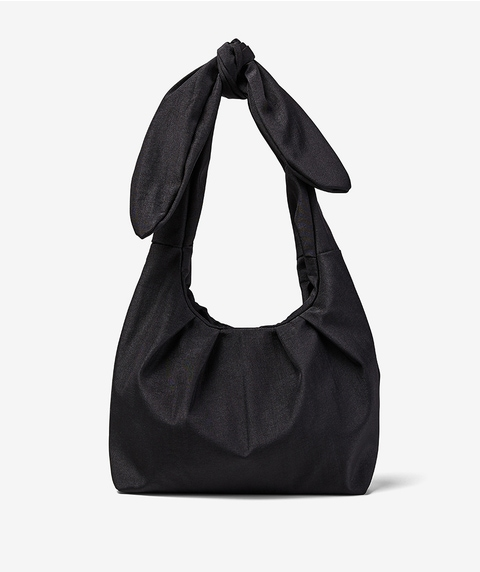 ROUCHED TIE UP BAG