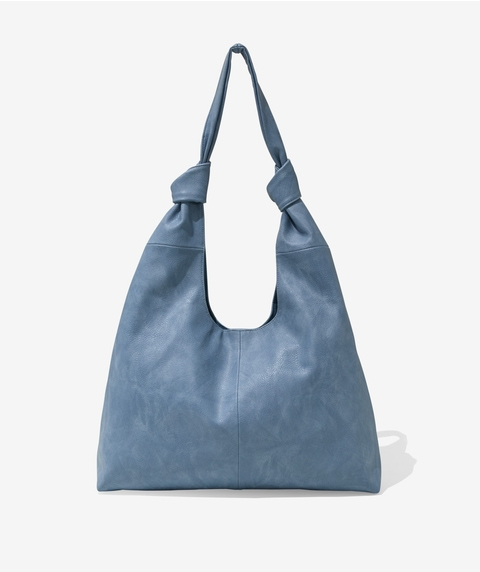 KNOT DETAIL TOTE BAG