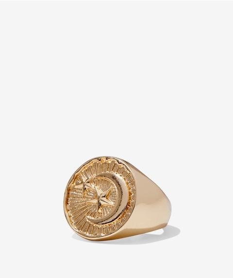GOLD CELESTIAL RING