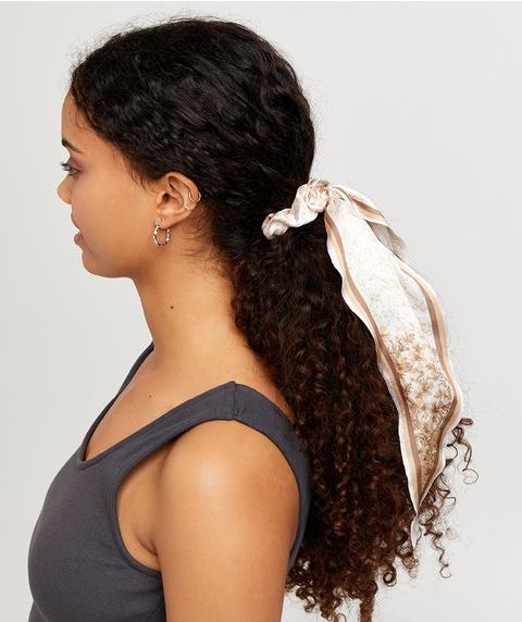 ASTROLOGY SCRUNCHIE HAIR TIE