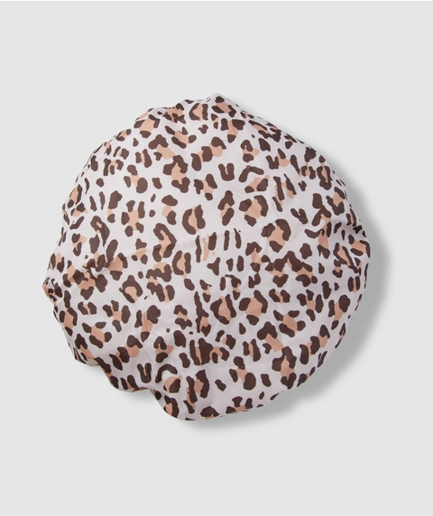 SHOWER HOUR - LEOPARD RECYCLED SHOWER CAP