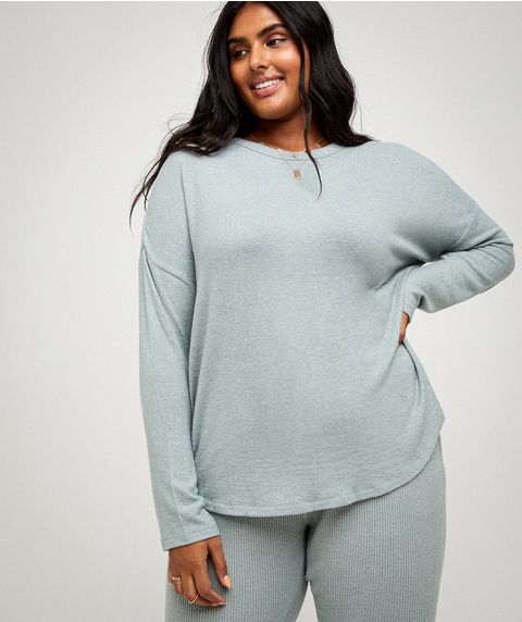 COSY SLOUCHY TOP