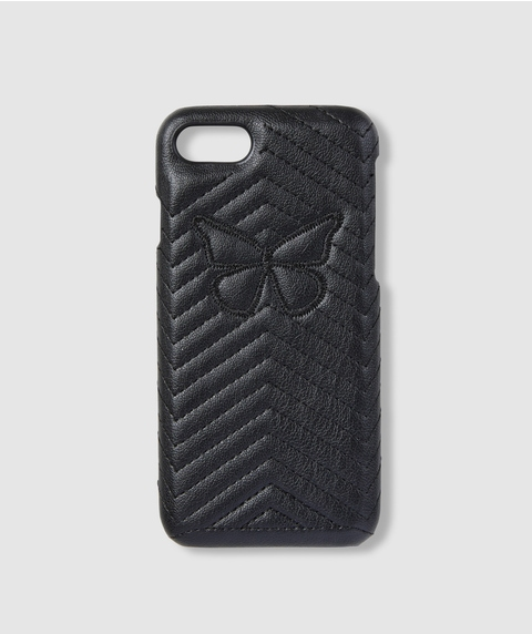7/8 BUTTERFLY QUILTED PHONE CASE