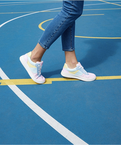 MAISON COLOUR BLOCK SNEAKER