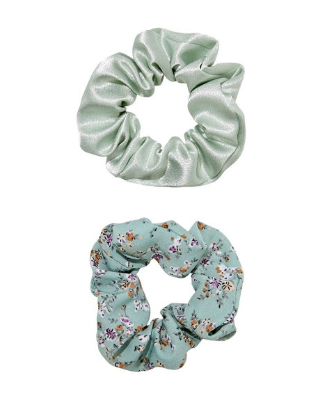 MINT SCRUNCHIE HAIR PACK