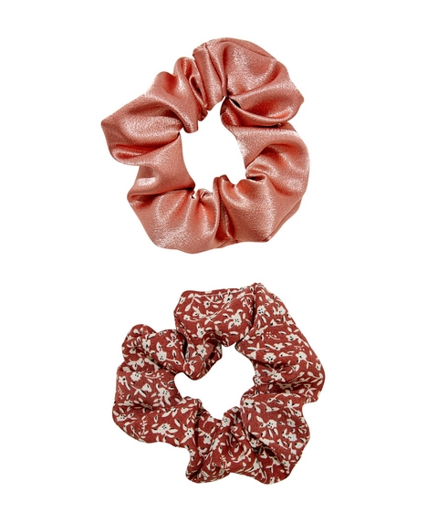 RUST SCRUNCHIE HAIR PACK