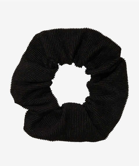 BLACK CORD SCRUNCHIE
