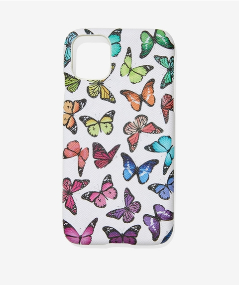 XR/11 COLOURFUL BUTTERFLY PHONE CASE