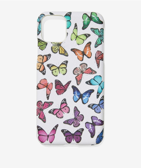 XSM/11PM COLOURFUL BUTTERFLY PHONE CASE
