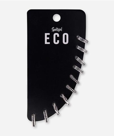 ECO - SILVER MINI HOOP PACK