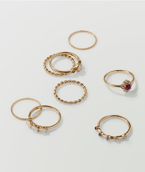 GOLD ROMANTIC RING PACK