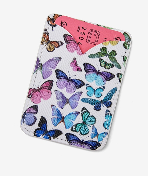POCKET MONEY - COLOURFUL BUTTERFLY