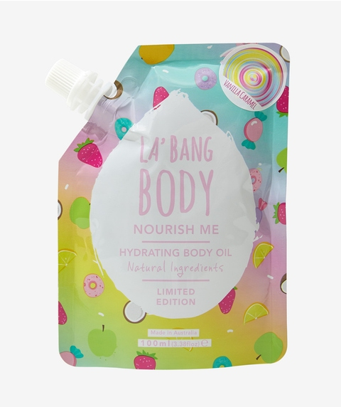 SPORTSGIRL X LA'BANG - KALEIDOSCOPE BODY OIL