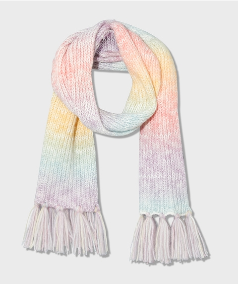 RILEY OMBRE KNITTED SCARF