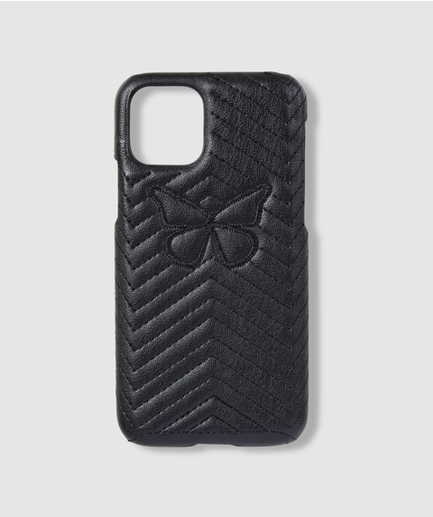 XS/11P BUTTERFLY QUILTED PHONE CASE