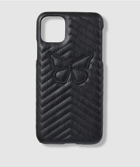 XSM/11PM BUTTERFLY QUILTED PHONE CASE