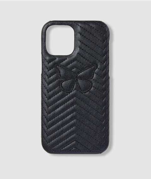 12 BUTTERFLY QUILTED PHONE CASE