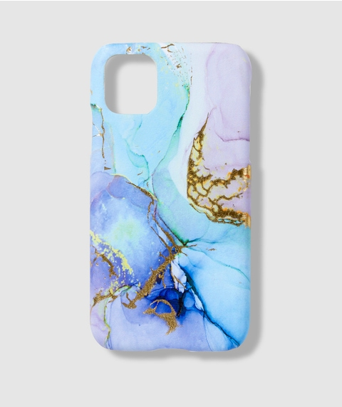 XR/11 BLUE MARBLE PHONE CASE