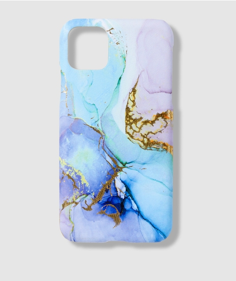 XSM/11PM BLUE MARBLE PHONE CASE