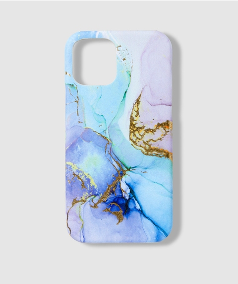 12 BLUE MARBLE PHONE CASE