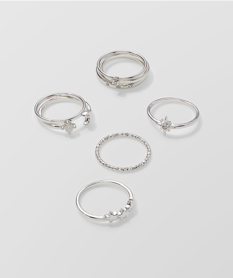 ECO - SILVER WISH RING PACK