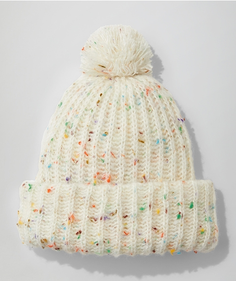 CASEY CONFETTI KNITTED BEANIE