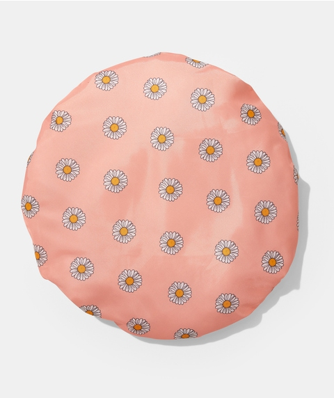 SHOWER HOUR – DAISIES RECYCLED SHOWER CAP