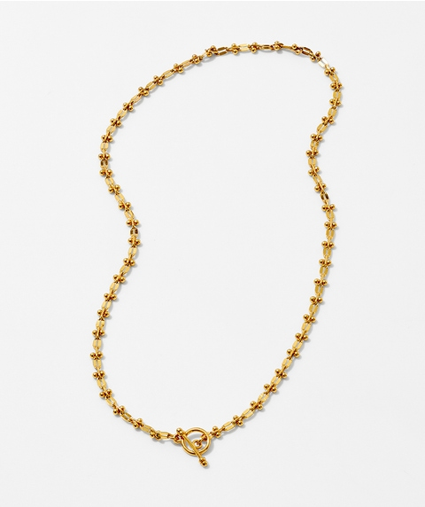 24K TOGGLE NECKLACE
