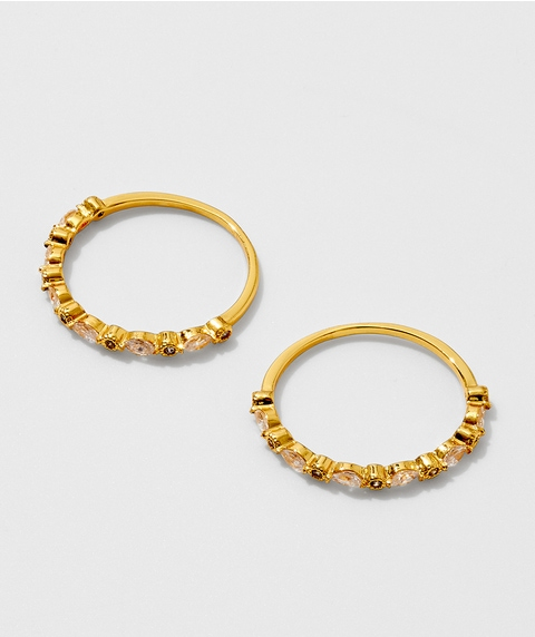 24K STACKED RING PACK