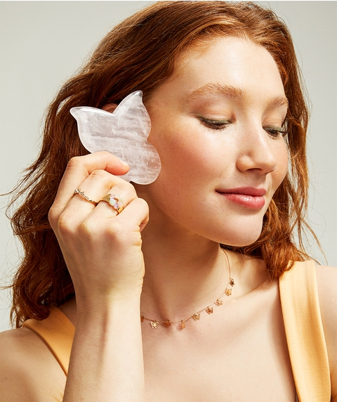 ROSE RESCUE - BUTTERFLY GUA SHA