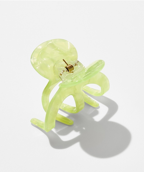 LIME OCTOPUS HAIR CLAW