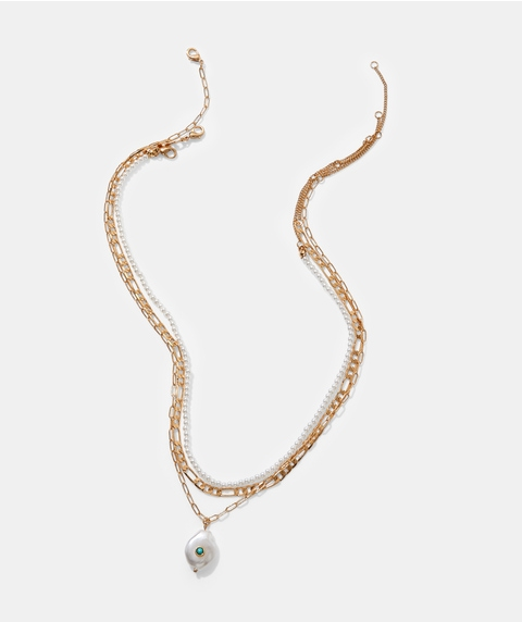 PEARL PENDANT NECKLACE PACK