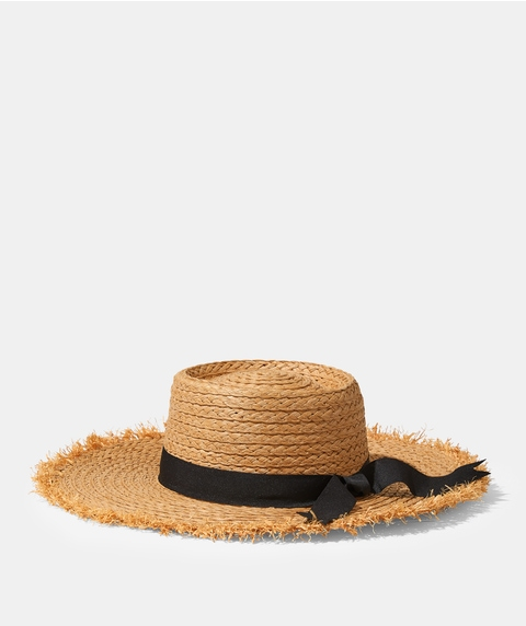 CARRIE BOATER HAT