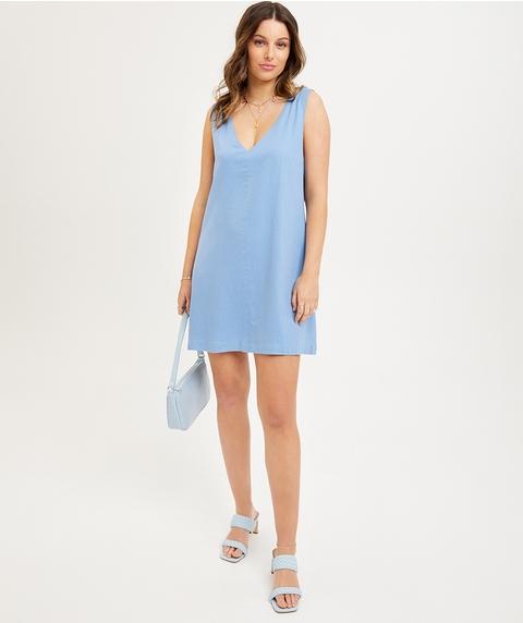 IDA V NECK SHIFT DRESS