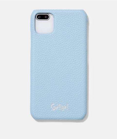 XSM/11PM SPORTSGIRL BLUE PEBBLED PHONE CASE