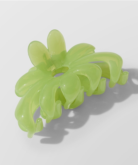 LIME FLORAL CLAW
