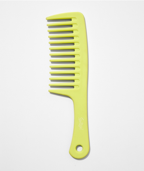 GOOD DAY HAIR COMB - LIME