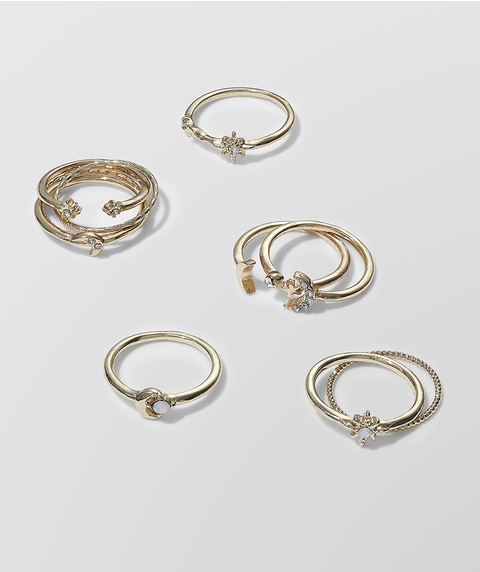 STAR AND MOON RING PACK