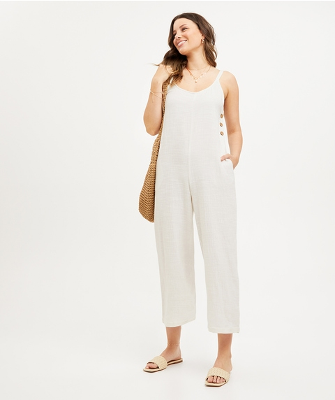 GINA COTTON CASUAL JUMPSUIT