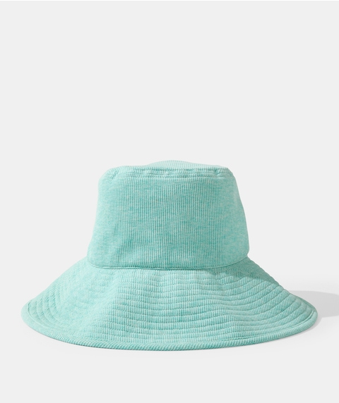 ANDY OVERSIZED WAFFLE BUCKET HAT