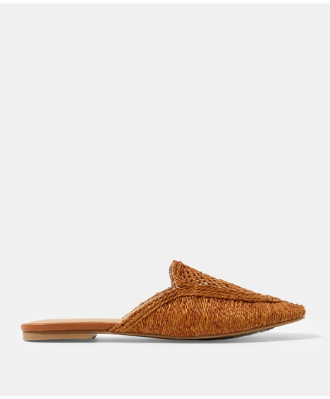 BONNIE TAN BACKLESS LOAFER