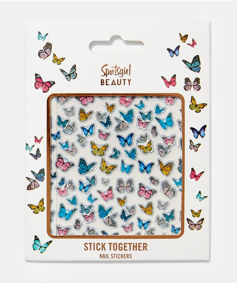STICK TOGETHER NAIL STICKERS - BUTTERFLY