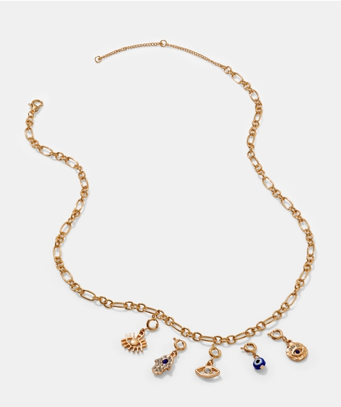 SG CHARMS EVIL EYE NECKLACE PACK