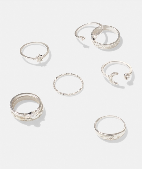 SILVER WISH RING PACK