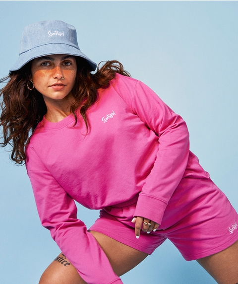 SPORTSGIRL CROP SWEAT